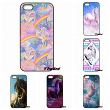 Cute Hippo Rainbow Unicorn Horse Art Hard Phone Case For HTC One M7 M8 M9 A9 Desire 626 816 820 Google Pixel XL One plus X 2 3