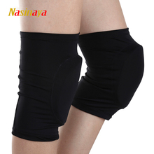 20 Colors Figure Skating Ice Skating Knee Protector Pad Sports Safety Supporter Protective Mat Protection 15mm Customized Size(China)