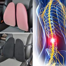 Health Care Body Car Pillow Meridian Therapy Waist Lumbar Massage Pillow Back Brace Support Relaxation Waist Car Cushion(China)