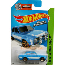 Hot wheel Speed and passion Paul Walker chariot Ford guardian alloy track toy collection car model