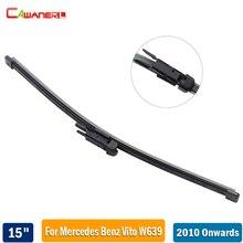 "Cawanerl Automotive Back Window Wiper Blade 15"" Car Rubber Rear Windscreen Wiper Mercedes Benz Vito W639 2010-2017"