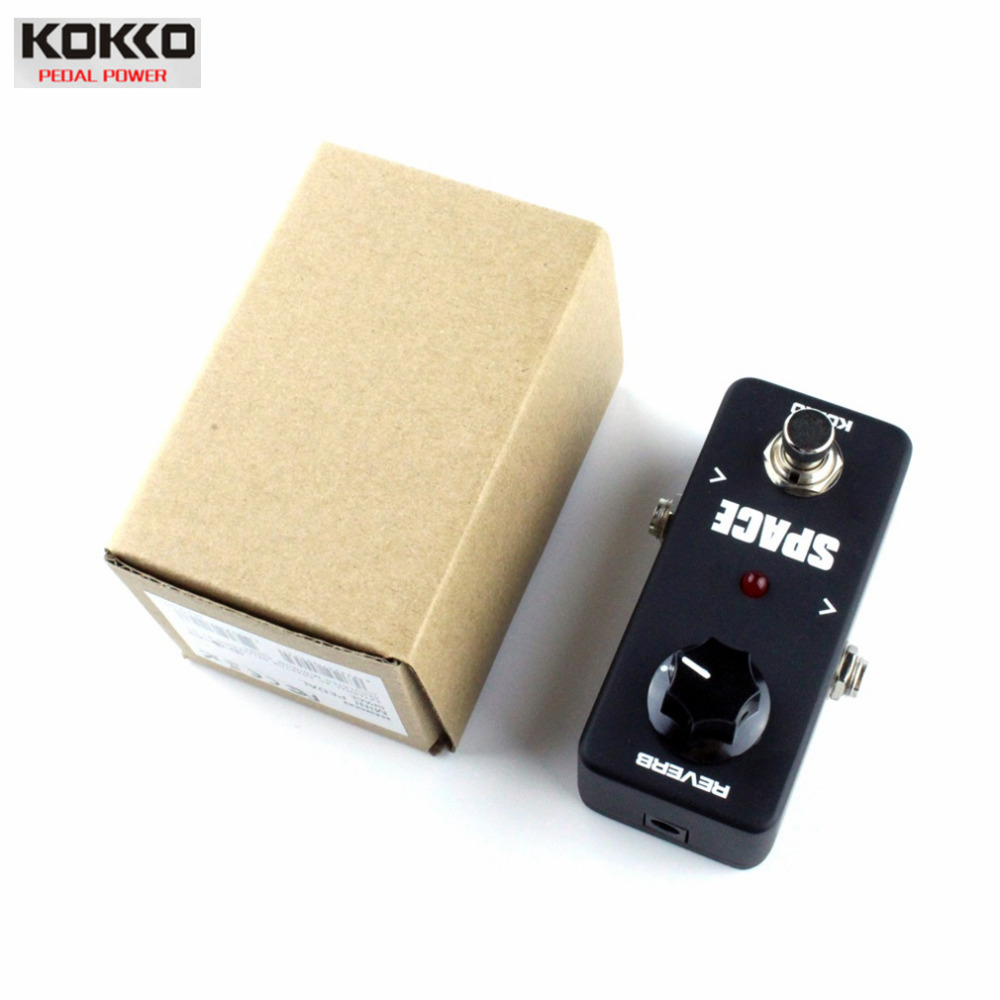 KOKKO Mini Vintage Overdrive Guitar Effect Pedal Guitarra Overdrive Booster High-Power Tube Reverberation Effect Device FRB-2<br><br>Aliexpress