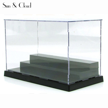 Transparent Three Layers Acrylic Plastic Display Case for Anime Action Figures Doll Model Display Box Collection Box Show Case