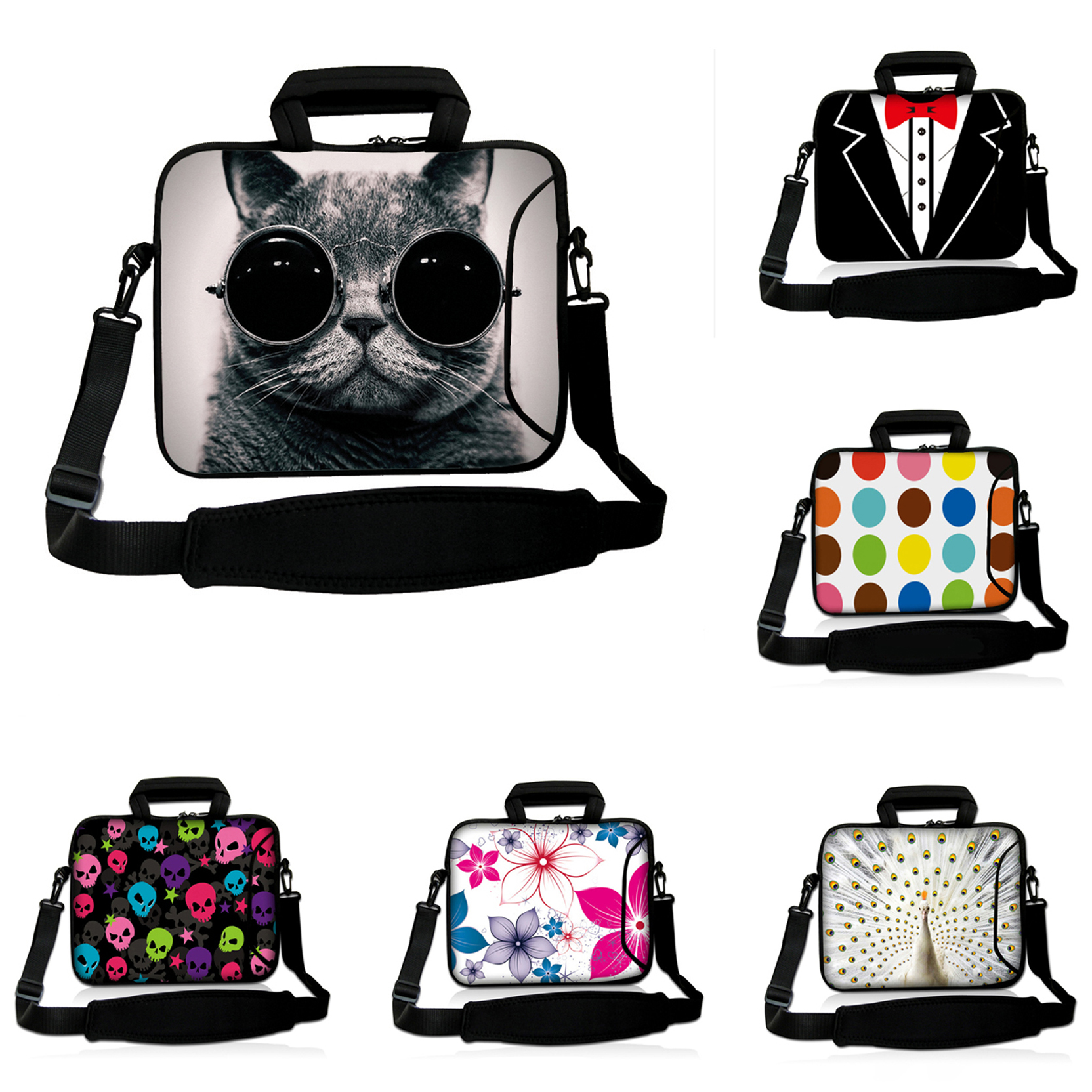 New Arrival Hot 15.4 15.3 15.6 15 inch Laptop Computer Notebook Bags For Dell Acer Thinkpad Shoulder Messenger Laptop Pouch Bag<br><br>Aliexpress