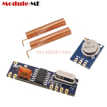 Wireless Remote Control MAX ASK Transmitter STX882 Receiver SRX882 Module Copper Spring Antenna High Micro Power Driver Board(China)