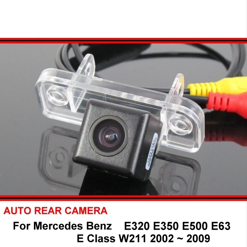 02-09 for Mercedes W211 E430 E500 E55 AMG Rear Bumper Protector Stainless Cover