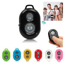 RGB Wireless Bluetooth Self-Timer Shutter Release Camera Remote Controller for iPhone 5 6 Plus Samsung s5 S Smart android Phone