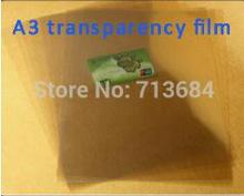 free shipping 20 pieces A3 transparent film screen printing film