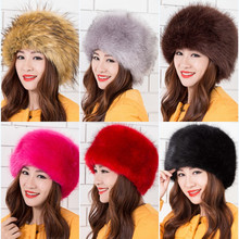 Women's Winter Candy Bomber Hats Various Fashion Knitted Crochet Caps Rabbit Fur Ear Protect Lady Casual Headgear Beanies