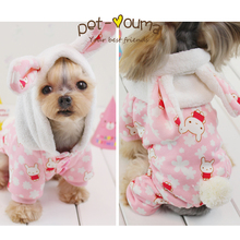 Kawaii Pet Shop Rubby Ear Rabbit Print Striped Dog Jumpsuits Rompers Pet Clothes  Clothes for Dogs Couple Dog Clothes Petco