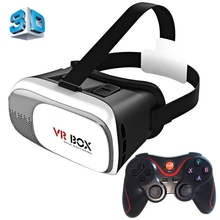 Universal Google Cardboard VR BOX 2 Virtual Reality 3D Glasses Game Movie 3D Glass For iPhone Android Mobile Phone Cinema NEW(China)