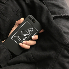 For iphone 6 Case Art Geometry Lines Figures Hard PC Back Covers Skin For iphone 6 6s 7 Plus Case 5 5S SE Capa