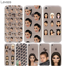 Lavaza Ugly Crying Face KIMOJI Unique Design Cover Case for iPhone X 10 8 7 Plus 6 6S Plus 5 5S SE 5C 4 4S Cases(China)