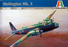 Out of print! 1/72 Wellington Mk.X Italeri MODEL KIT 1252