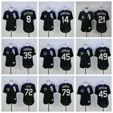 Men's Chicago White Sox jordan Jose Abreu Todd Frazier Chris Sale Frank Thomas Bo Jackson Carlton Fisk Paul Konerko jerseys