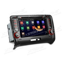 "7"" Android 5.1 OS Special Car DVD for Audi TT MK2 2006-2014 with Full RCA Output Support & Google Voice Search Support"