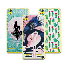 "Buy Case Lenovo A6010 5.0"" Mermaid Painting Hard Plastic Cases Lenovo A6010 6010 Phone Protective Back Cover+Free Gift for $1.48 in AliExpress store"