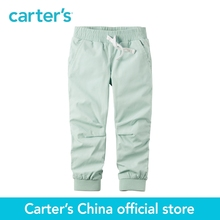 Carter's 1pcs baby children kids Jersey-Lined Poplin Joggers 236G285,sold by Carter's China official store