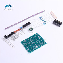 Analog Electronic Candle Module DIY Kit Lit + Blow Control Simulation Candle Suite For Electronic Training Parts DIY