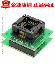 AE-Q64-ATM128 ADAPTER SOCKET 64-QFP TO 40-DIP Development Board QFP Socket Module