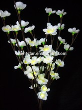 "LED Battery Blossom Branch Light 20"" 60LED Christmas branch light wedding table decoration branch twig light"