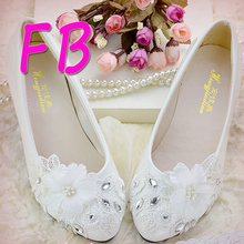 2016 Hot New Bride Bridesmaid White Wedding Shoes Strap Princess Shoes Lace Diamond Mitzvah High Heels Big Size Eu42 Party Pump