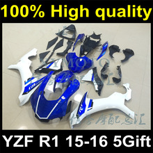 Complete Plastic Body Fairing Kit Set For YAMAHA YZF R1 2015 2016 15 16 Fairing Y15-1166