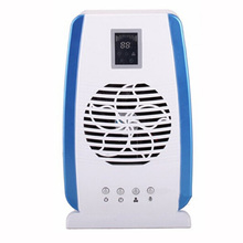 Home Air Purifier Negative Ion Generator, Air Cleaner UV Lamp Sterilizer Ionizer Ozonizer Anion Activated Carbon Air Filter(China)