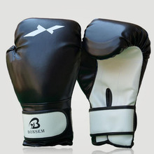 Good Quality Training Gloves New Style Boxing Gloves 2 Colors Optional free shipping