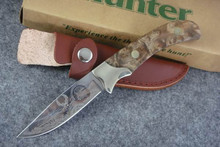 fixed blade knife Shadow Wood Hunting Knife ,Camping tool Survival Knife Outdoor rescue knives