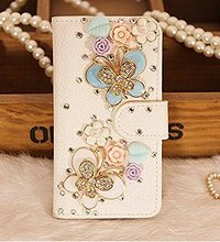 Buy Luxury 3D Bling Crystal Rhinestone Wallet Leather Purse Flip Card Pouch Stand Cover Case SamsungS3 S4 S5 S6E S7E S8P N3 N4 5 for $4.24 in AliExpress store