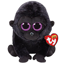 "Pyoopeo Ty Beanie Boos 6"" 15cm George the Black Gorilla Plush Regular Stuffed Animal Collectible Soft Big Eyes Doll Toy(China)"