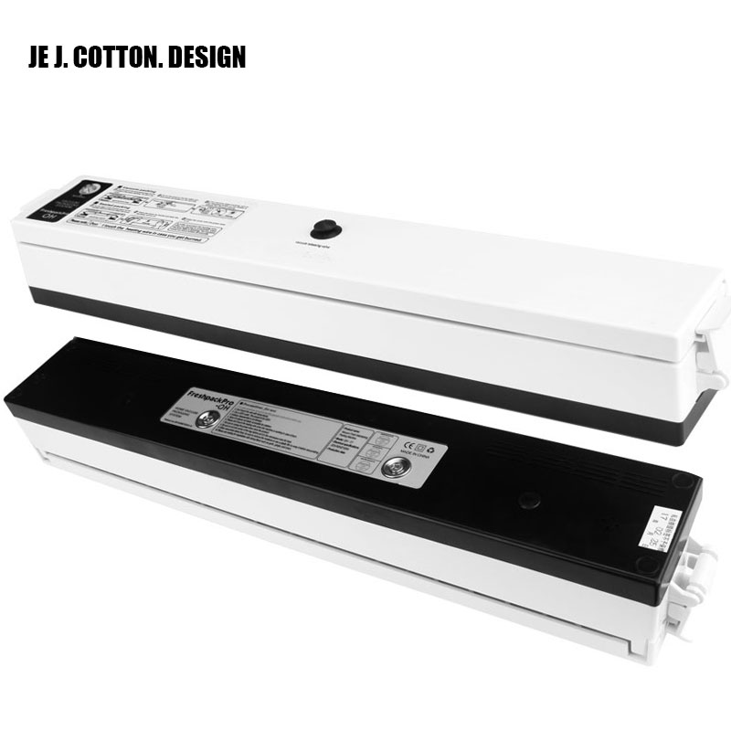 110V 220V Kitchen Appliances Vacuum Food Sealers with Free Bags Vacuum Packer Vacuum Packing Sealing Machine Packages for Food<br>