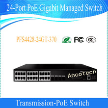 DAHUA 24-Port PoE Gigabit Two-layer network Managed Switch Without Logo PFS4428-24GT-370