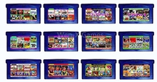 Nintendo GBA Video Game Cartridge Console Card Compilations Collection EG001-EG012 English Version(China)