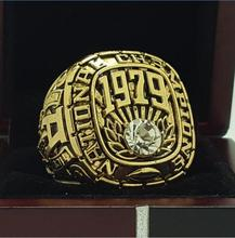 1979 Alabama Crimson Tide SEC Football National Championship ring replica size 11 US solid back