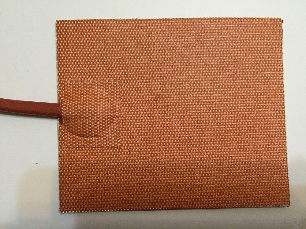 pad in silicone / riscaldatore letto per stampante 3d 254 x 152.4 mm 120 v / 240 v 500w silicone printer htater silicone pad<br>