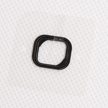 "50pcs/lot New Home Button Holding Gasket Rubber Spacer For iPhone 6 PLUS 5.5 4.7 "" Adhesive Sticker(China)"