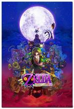 NICOLESHENTING The Legend Of Zelda Majoras Mask Art Silk Poster Huge 12x18 32x48 inches Game Wall Picture Home Room Decor 07