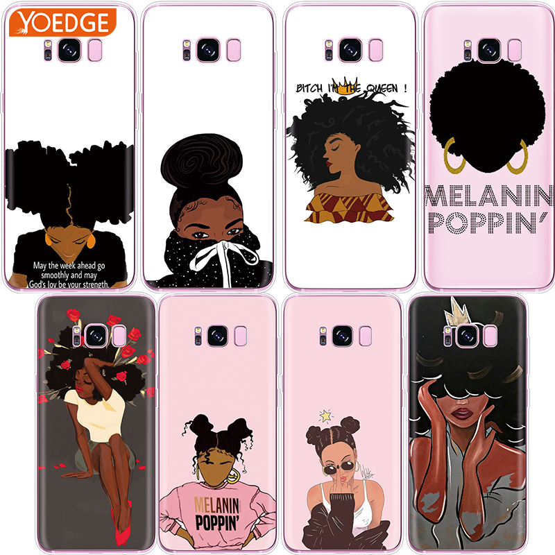 Silicone 2bunz Melanin Poppin Aba Last Style J6 Cases For Samsung Galaxy J4 J6 S10 Plus A7 A9 2018 Lite Note 9 8 Phone Cover J4