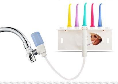 Teeth clean Water Flosser Faucet Oral Irrigator Dental SPA Jet Interdental Remove Debris Reduce Bacteria Tooth Cleaner Oral Care<br>