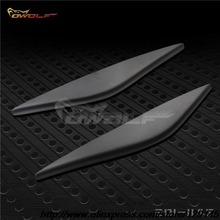 Fiber glass Headlight Eyelids Eyebrows cover trim 2pcs Fit For Ford Fiesta MK6 2002~2005(China)