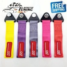 Free Shipping Universal High Quality Tow Strap Racing Car Tow Straps / Tow Ropes / Hook / Towing Bars With Logo(China)