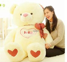 Fancytrader 59'' / 150cm Cute Soft Stuffed JUMBO Plush Hello Teddy Bear Toy, 2 Colors Available! Free Shipping FT50112