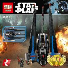 Star War Series Lepin 05112 59Tracker Fighter Set Children Educational Building Blocks Bricks Toy Model 75185 - Goldtoys Store store