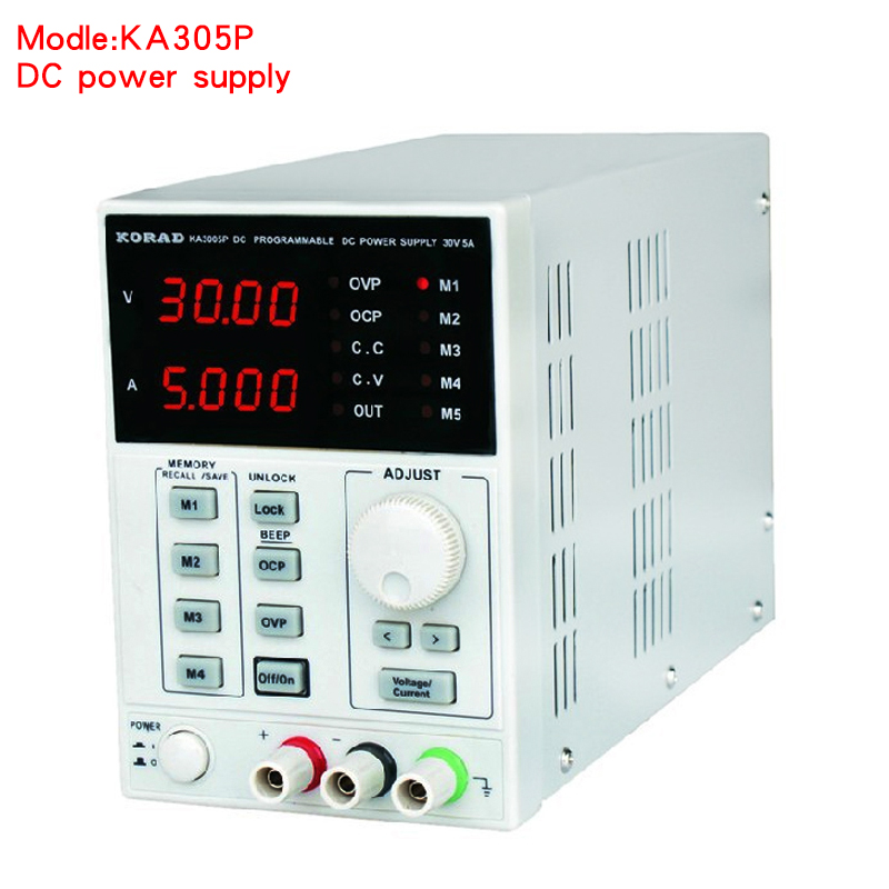 KA3005P - Programmable Precision Adjustable 30V, 5A DC Linear Power Supply Digital Regulated Lab Grade (with USB and software) (1)