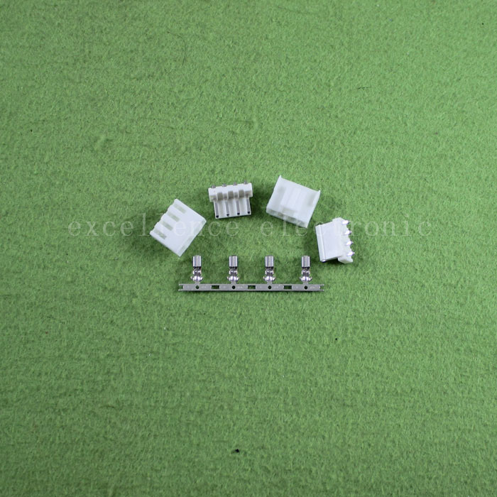 20 set 4 pin VH3.96 Connector 3.96mm Pin Plug Terminal Needle Seat new<br><br>Aliexpress