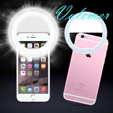 Rechargeable Portable Universal Selfie Ring Flash Led Light Lamp Mobile Phone Led Selfie Lamp Ring Flash for iPhone Xiaomi Meizu