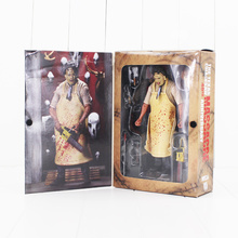 New NECA 40th Anniversary Ultimate Leatherface Classic Terror Movie The Texas Chainsaw Massacre Action Figure