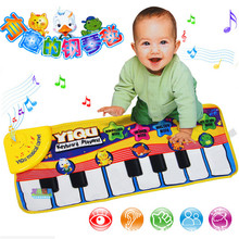 Baby Music Carpet Baby Music Mat Educational Baby Kid Child Piano Music Plat Mat 72*29cm DW872822(China)